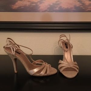 Shoes - Forever 21 Strappy High Heel Sandal
